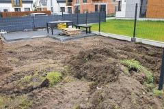 Niwelacja terenu - pod trawę z rolki