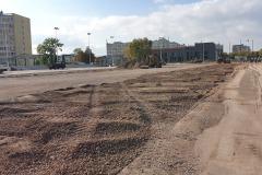 Wykonywanie niwelacji terenu - Boisko certyfikat FIFA - Politechnika Świętokrzyska