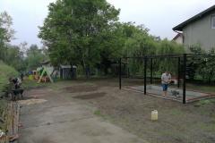 Budowa piaskownicy - Tyniec ul. Benedyktyńska