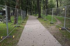 Przebudowa ścieżek rowerowo-pieszych park Kościuszki - Kraków