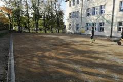 Budowa boiska wielofunkcyjnego - Mietniów Wieliczka sp. Im Iskry