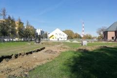 Budowa ciągów pieszych - ul. Lipska - Kraków